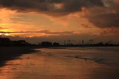 Dunkerque, le 11 fvrier 2016 (jObiwannn) Tags: soleil sable ciel nuage plage dunkerque malo ocan