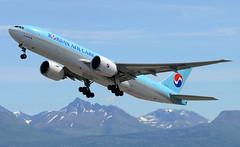 HL-8005 (John W Olafson) Tags: alaska cargo anchorage takeoff airliner boeing777 koreanair tripleseven hl8005