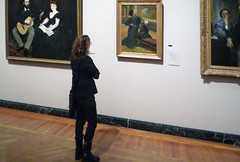 Degas, Visit to a Museum with Beth, c. 1879-90