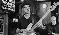 Blues Bassist Lou Castro (MarcCooper_1950) Tags: musician music bar losangeles nikon livemusic blues performer lightroom tarzana d810 marccooper 2470mmf28nikon mauisugarmillsaloon cadillaczackbluesparty