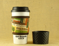 Kollar Girl Scout tumbler silcone wrap_72 (KozeeLady) Tags: travel hot cold green cup water beer coffee girl cookies fruit america brewing ceramic french recipe tin glasses milk cozy wine bottles tea juice chocolate go beverage ale wrap frenchpress frosty plastic gifts cap starbucks cover drinks scouts takeout mug teapot iced soda soy cans cocoa press warmers smoothies pastries sleeve thermal herbal chai cosy lid carafe ecofriendly companions shakes recyclable tumbler insulated cosie thinsulate tisane koffeekompanions cafertiere