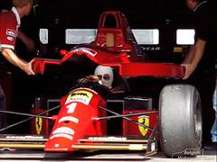 1990 Ferrari 641 F1-90 (belgian.motorsport) Tags: ferrari modena 1990 motorsport nrburgring nurburgring 2011 641 f190 trackdays