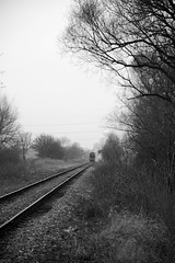 NVR 41923bw (kgvuk) Tags: trains locomotive railways 440 steamtrain steamlocomotive morayshire nvr nenevalleyrailway d49 62712