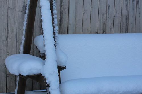 Sillón de nieve