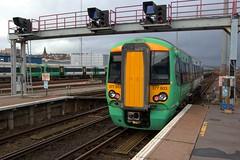 377603 (40011 MAURETANIA) Tags: train brighton transport southern emu britishrail unit 442 387 313 377 govia overallroof