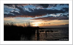 Puesta de sol en La Albufera (Lourdes S.C.) Tags: espaa atardecer amanecer cielo nubes puestadesol ocaso laalbufera provinciadevalencia