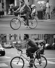 [La Mia Citt][Pedala] dormendo (dietro) (Urca) Tags: portrait blackandwhite bw bike bicycle italia milano bn ciclista biancoenero mir bicicletta 2015 dormendo pedalare dittico 79950 nikondigitale ritrattostradale