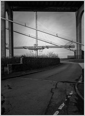 Tower Monolith 3 (The Anti-Sharpness League) Tags: road bridge mono scotland fuji fife x forth queensferry xm1 ceossing jadmor