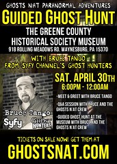 Pittsburgh Ghost Hunters Event 2016 (Ghosts N'at) Tags: pittsburgh taps paranormal greenecounty ghosthunters paranormalactivity davetango greenecountyhistoricalsociety paranormalevents brucetango ghosthuntersevents greenecountypennsylvania ghosthunterspittsburgh pittsburghghosthunters thingstodoinpittsburgh greenecountyghosts ghostsnat pittsburghparanormal greenecountyparanormal