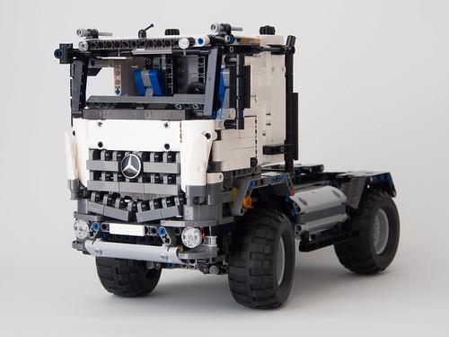 Lego Technic 42043 Mercedes Benz Arocs B Model Mod A Photo On