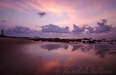 Vizag Rocks ! (dr a k) Tags: nature sunrise redlighthouse visakhapatnam vizagandhrapradeshindianature