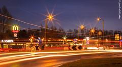 Light Trails (Paul Whittaker P.W Photography) Tags: longexposure canon photography lighttrails nottinghamshire pw canoneos60d