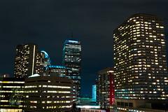 IMG_1623 (mikeneilan) Tags: city boston skyline long exposure cityscape rooftops nightlife prudential backbay
