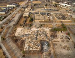 RIP B205 (milfodd) Tags: demolition photomerge february aerialphotography drone 2016 techcity quadcopter townofulster phantom3pro
