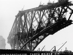 Forth Bridge (Dundee City Archives) Tags: forth rail bridge forthbridge railway firthofforth construction old photos victorian victorianengineering civil engineering northqueensferry