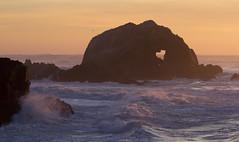 Heart of the ocean (San Diego Shooter) Tags: sanfrancisco california sunset love rock landscape cool heart valentines uncool cool2 sanfranciscosunset cool3 cool4 valentinessunset romanticsunset uncool2 uncool8 uncool3 uncool4 uncool5 uncool6 uncool7 sutrobathsunset heartrocksanfrancisco