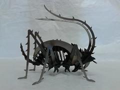 Grille_Stahl_006 (KienerAndreas) Tags: sculpture art metal 3d stainlesssteel steel kunst welding skulptur puzzle laser metall cnc aluminium stahl 3dpuzzle metalsheet lasercutting schweisen