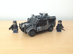Raptor (Project Azazel) Tags: lego military pa raptor technical vehicle ba custom legotruck customlego legomilitary projectazazel legomilitarymodels militarytechnical legomilitarytruck legomilitarytechnicaltruck