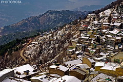 MURREE HILLS (PHOTOROTA) Tags: winter pakistan snow nikon flickr hills punjab murree abid photorota