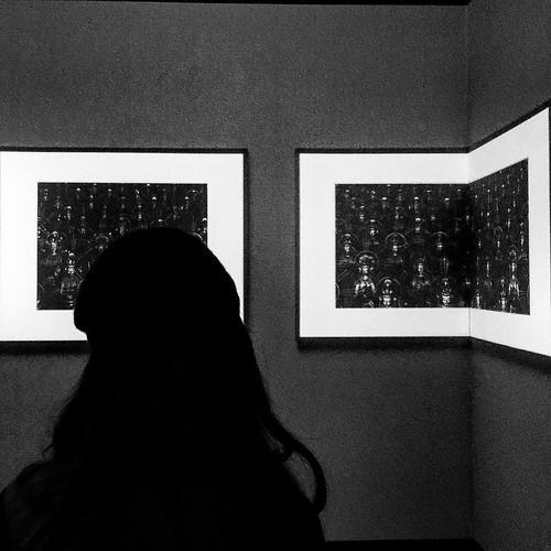 #art #gallery #@pacegallery #buddha #@hiroshi.sugimoto #riadarttour #blackandwhite