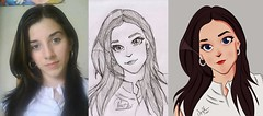 To the next level of art. Finished my first compelete cartoon portrait. Wooo that took a lot of time.... #cartoon #portrait #manga #toon #sketch #photosho *please don't post any requests yet, a post regarding requests will be created later.. (sabid56) Tags: portrait sketch cartoon manga toon photosho