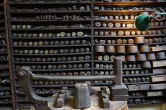 Puch & Die Racks (McTumshie) Tags: england heritage museum birmingham unitedkingdom workshops jewelleryquarter smithpepper museumofthejewelleryquarter 19march2016