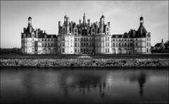 encore (Paucal) Tags: leica panorama france castle de la noir reflet chambord leonard vinci et loire blanc m9 chteaux summilux35 bisextile