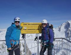 (p2an) Tags: chamonix alpineclimbing grandsmontetridge aretedubelvedere