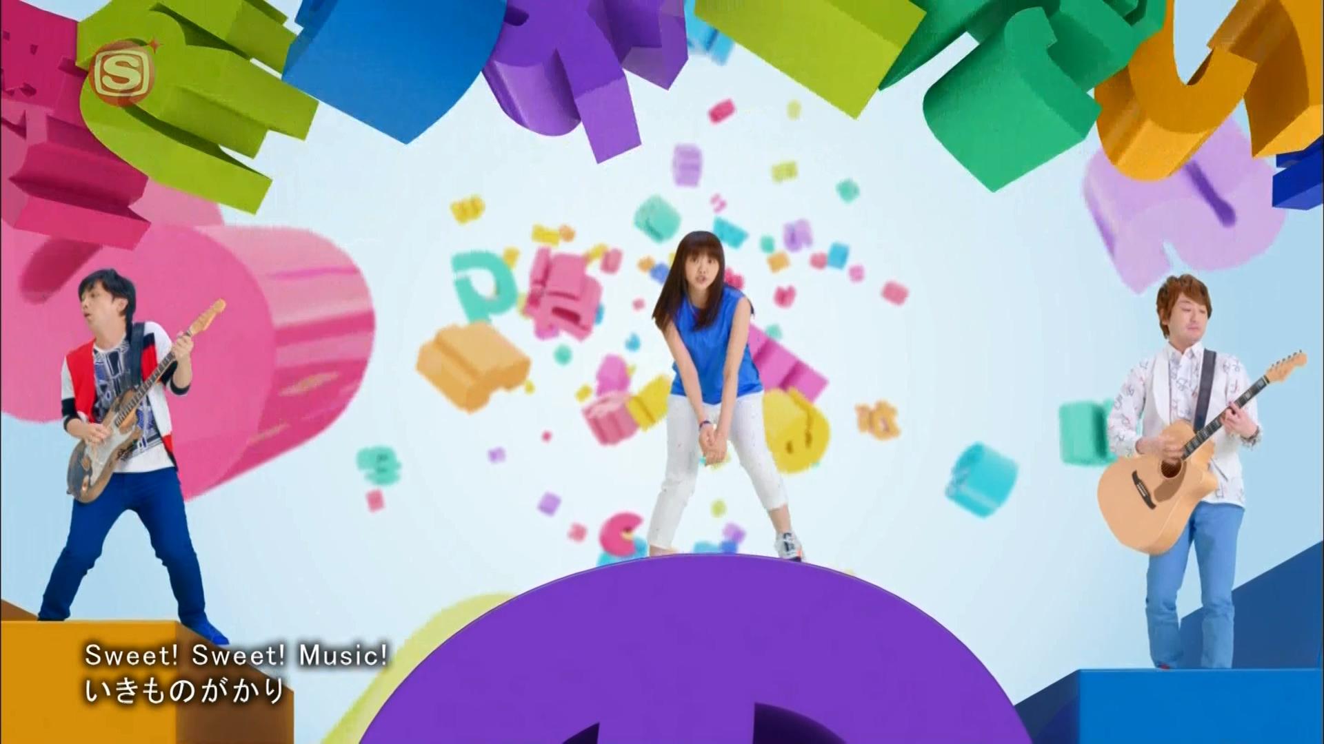 2016.03.16 いきものがかり - Sweet! Sweet! Music!(SSTVPlus).ts_20160316_224931.977