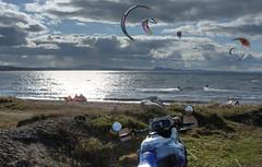 Longniddry Scotland (skullwull) Tags: sea scotland windsurfers longniddry a