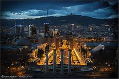 Barcelona hora blava.  (Barcelona - Catalunya). (Antoni Gallart i Vilarrasa) Tags: barcelona blue espaa azul night noche spain catalonia hour hora catalunya catalua nit d800 blava espanya
