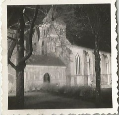 """Munsterkirche- 1100 jahr alt""- 1953 (912greens) Tags: architecture germany cathedrals kirche ghostly munster"