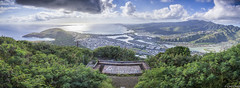 Koko Head Panorama (Cory Otsuji) Tags: panorama hawaii bay oahu head hiking diamond kai hanauma koko kokohead livehi
