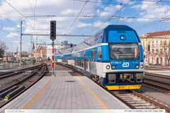 971.082-3 | Os2945 | tra 320 | esk Tn (jirka.zapalka) Tags: train spring czech cd os ceskytesin stanice trat320 rada971