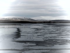 Icetrack (Sarah Walker Photography) Tags: ice na loch moor lochan rannoch hachlaise