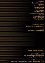 Colectia Academis, Centrul de Creatie al Artelor Vizuale Contemporane FAD (kelemengabi) Tags: de design arte dana biblioteca armand timisoara constantin facultatea colection acea centrala universitara academis eugentodoran