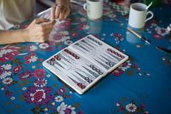 Moleskine Backgammon (Lenny&Meriel) Tags: malaysia borneo backgammon kinabatanganriversabah