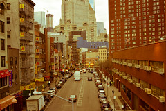 Filtered Chinatown (IntExp7) Tags: nyc newyorkcity ny newyork downtown chinatown manhattan manhattanbridge lowermanhattan downtownmanhattan