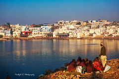 pushkarr--lake (prabhjitk) Tags: travel india pushkar rajasthan trave pushkarfair pushkarlake incredibleindia