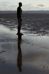 Another Place | Antony Gormley | Crosby-1 (Paul Dykes) Tags: sculpture statue shoreline estuary antonygormley merseyside anotherplace rivermersey