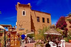 Ouarzazate - April 2016 (300 jours  Paris) Tags: africa travel sahara architecture landscape desert outdoor north morocco maroc marrakech maghreb medina ouarzazate ait ksar kasbah benhaddou
