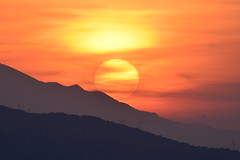 Rolling Down The Hill (Kotsikonas Elias) Tags: sunset sky cloud landscape nikon outdoor athens greece astrometrydotnet:status=failed nikond3330 astrometrydotnet:id=nova1522678 kotsikonaselias