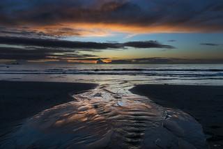 Sunset at Hellestø beach - D8D_8786