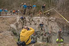 sliding (stevefge) Tags: girls people netherlands sport fun mud nederland viking endurance berendonck nederlandvandaag reflectyourworld strongviking