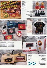 Manchester United - Official Merchandise Catalogue - 1994 - Page 35 (The Sky Strikers) Tags: old red classic manchester souvenirs official united fred merchandise 1994 collectors trafford catalogue the leisurewear