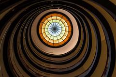hypnotizing (JayPiDee) Tags: abstract architecture germany circle deutschland curves hamburg staircase round architektur rund abstrakt kreis treppenhaus kurven unusualview kontorhausviertel sprinkenhof ungewhnlicherblickwinkel kontorhausdistrict