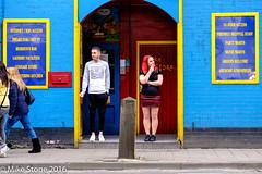 Oxford Back Packers (stonem64) Tags: street red people hostel women fuji candid streetphotography smoking oxford stockcategories fujifilmxt1 fujifilmxf35mmf2