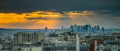 """vue sur la defense paris """"the place"""" (chrisrocknroll) Tags: leica paris clouds 50mm sony ladefense summicron nuages"""