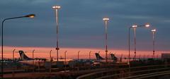 Morning in Helsinki (Sergei P. Zubkov) Tags: sunrise airport helsinki september 2009 vantaa
