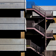 Yeah, well... it's complicated. (MyArtistSoul) Tags: ca urban abstract lines stairs square concrete geometry steel patterns grunge minimal parkingstructure oxnard s100 0366 constructiongeometry